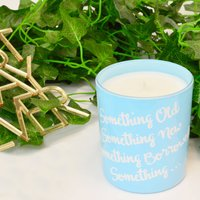 'Something Blue' Soy Wax Candle