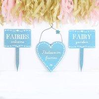 Fairy Garden Signs