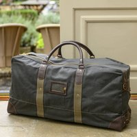 1950s Replica R.A.F. Flight Bag, Grey/Sand