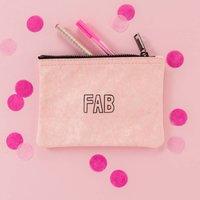 Fab Zipper Pouch Bag 40th Birthday Gift