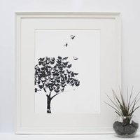 Tree Of Grouse Screen Print