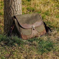 Wild West Waxed Canvas Bag With Dslr Camera Sleeve