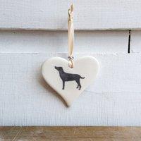 Labrador Hanging Heart