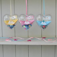 Message Heart Sail Boat Favours