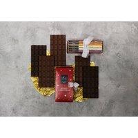 Christmas Milk Chocolate Red Gift Box