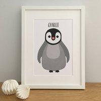 Baby Penguin Nursery Print