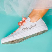 Personalised Wedding Trainers
