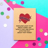 Funny Valentine's Day Card: That One Movie