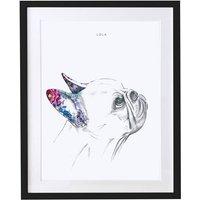 Personalised Pet Portrait French Bulldog