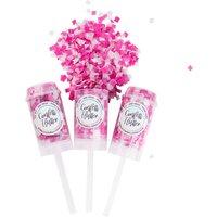 Love Pink Confetti Flutters