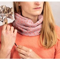 Cashmere Mix Star Leaf Snood