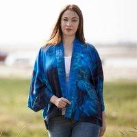 Dandelion Wishes Lightweight Viscose Kimono Top
