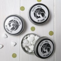 15 Personalised Favour Tins Art Deco/Great Gatsby/1920s