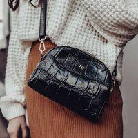 Personalised Croc Crossbody Handbag