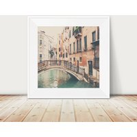 Wandering The Streets Of Venice Photographic Print
