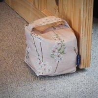 Cotton Door Stopper Cherry Blossoms Heavy Weight