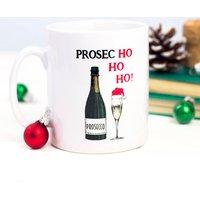Prosecco Christmas Mug