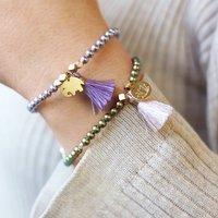 Will You Be My Flower Girl Handmade Bracelet