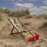Floral Dance Deck Chair Gift For Summer