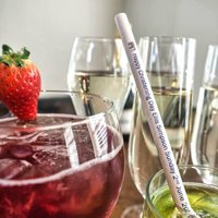 Personalised Christening And Naming Day Paper Straws