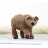Grizzly Bear Needle Felting Craft Kit