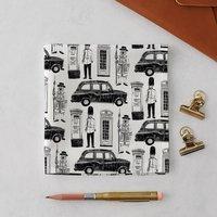 London Icons Handkerchief Pocket Square