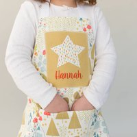 Personalised Children's Woodland Apron