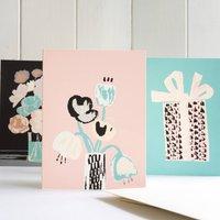 Three Modern Multipurpose Greeting Cards