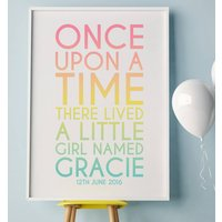 Once Upon A Time There Lived A Little Girl Named...