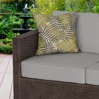 Dark Green Rainforest Water Resistant Outdoor Cushion