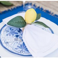 Amalfi Coast Lemon Napkin Rings