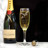 Spitfire Personalised Champagne Flute