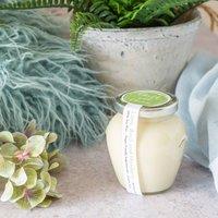 Lime, Basil And Mandarin Soy Jar Candle