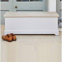 Ridley Grey Hallway Storage Bench Box