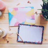 Weekly A4 Desk Pads