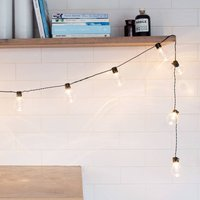 Clear Bulb Battery Festoon Lights