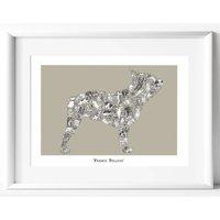 French Bulldog Print