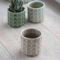 Miniature Textured Planter