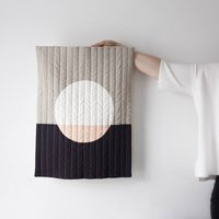 Lune Quilted Wall Hanging