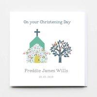 Christening, Baptism Dedication Girl / Boy Card
