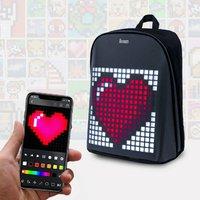 Smart Digital Pixel Art Backpack