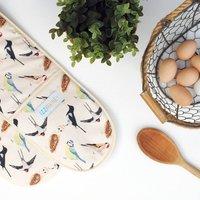 Garden Birds Oven Glove