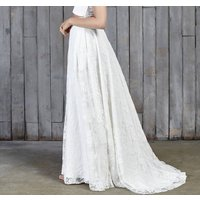 Stevenson Lace Boho Bridal Skirt