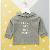 Youve Got This Daddy Kids Hoodie