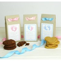Personalised Christening Baking Mix Favours, Pink/Blue