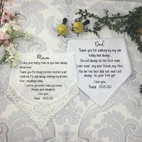 Mother And Father Of The Bride Gift Set From Daughter