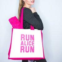 Personalised Run Gym Bag