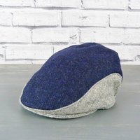 Yorkshire Tweed Colour Block Flat Cap