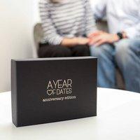 30th Pearl Wedding Anniversary Box Of Dates
