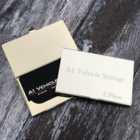 Personalised Engraved Business Card Holder